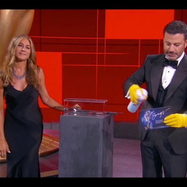 Jennifer Aniston i Jimmy Kimmel