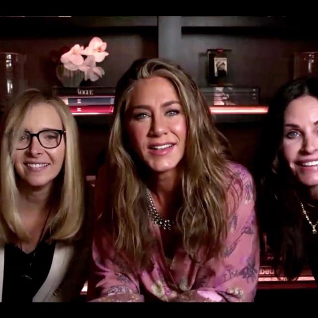 Lisa Kudrow,Jennifer Aniston i Courteney Cox