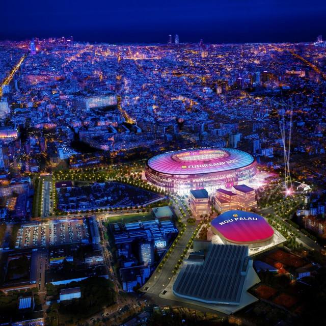 Novi Camp Nou imat će 105.000 natkrivenih mjesta s vrhunskim pogledom