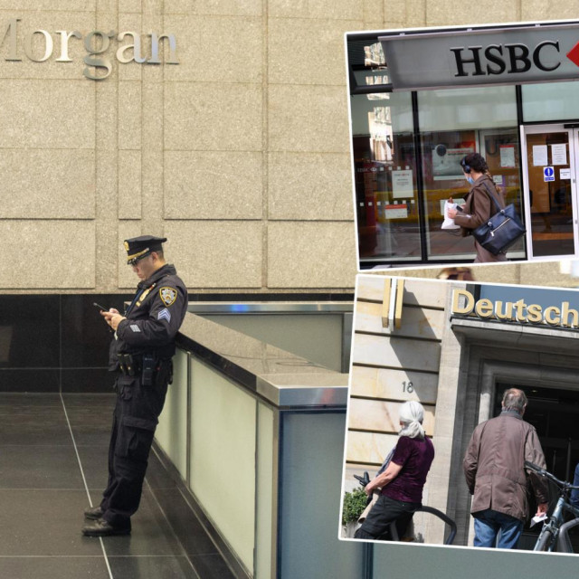 JPMorgan Chase & Co., HSBC i Deutsche Bank