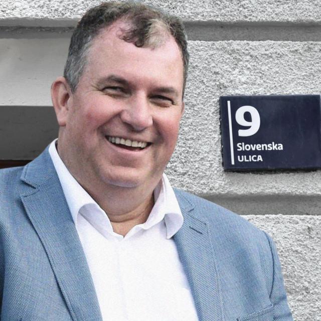 Jakov Kitarović; Slovenska ulica broj 9 u Zagrebu
