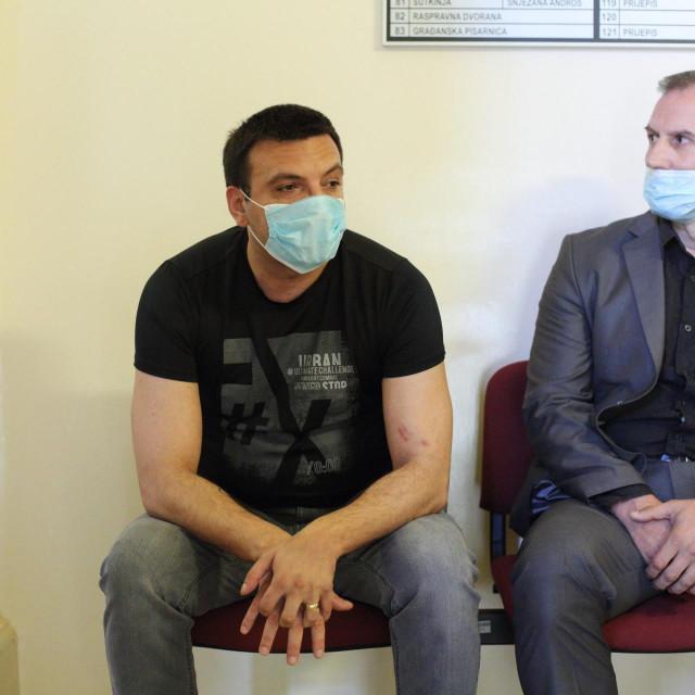 Franjo Varga s odvjetnikom