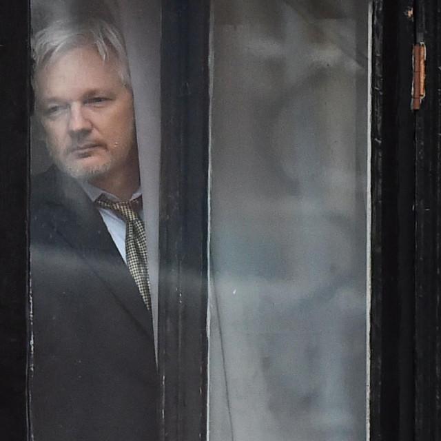 julian Assange / arhivska fotografija