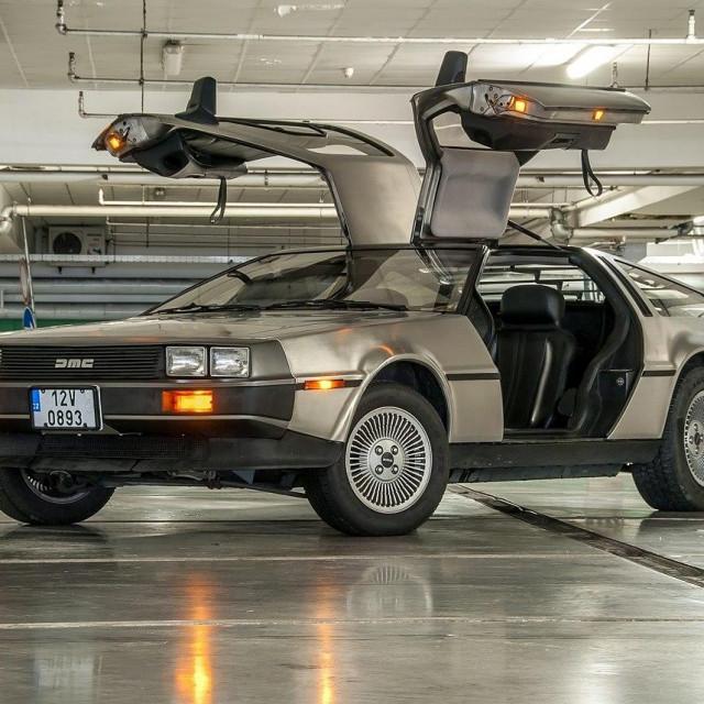 Kultni automobil DeLorean iz 'Povratka u budućnost'