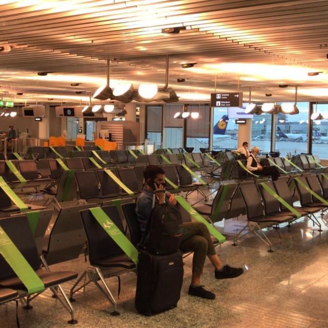 Zračna luka u Frankfurtu