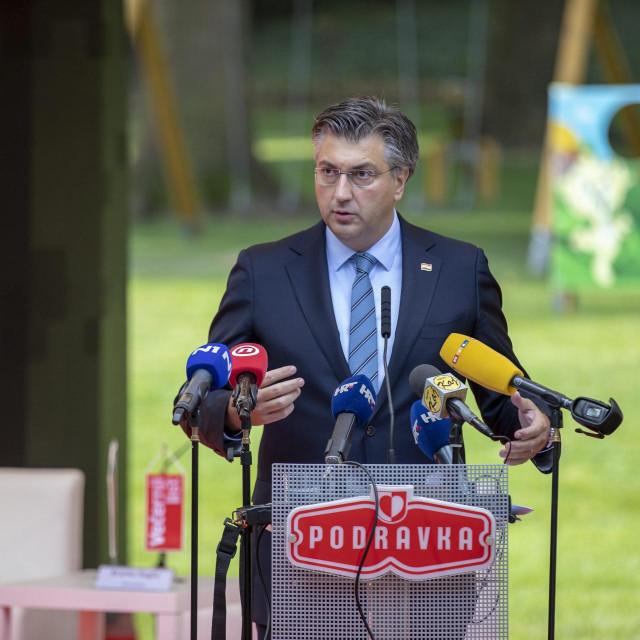 Premijer Andrej Plenković na konferenciji Hrvatska kakvu trebamo.<br />