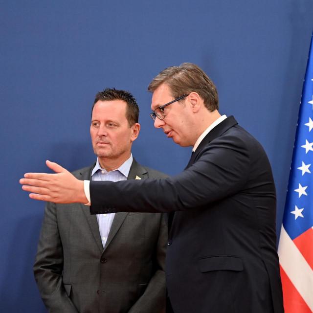 Richard Grenell i Aleksandar Vučić
