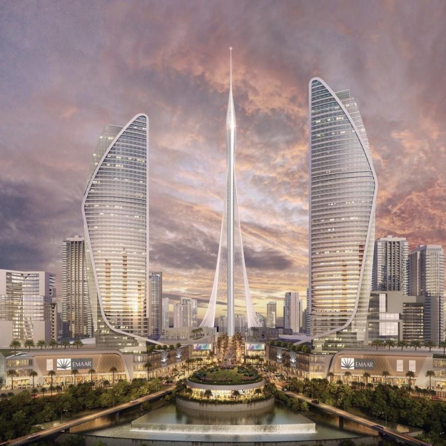 Dubai Creek Tower, render
