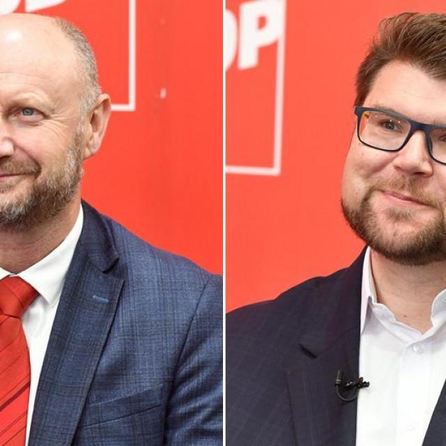 Željko Kolar i Peđa Grbin