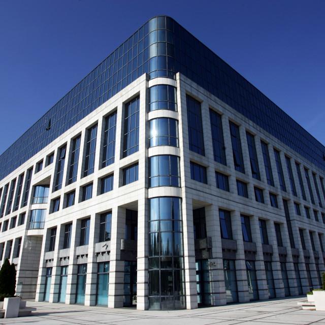 Zgrada INA-e u Novom Zagrebu