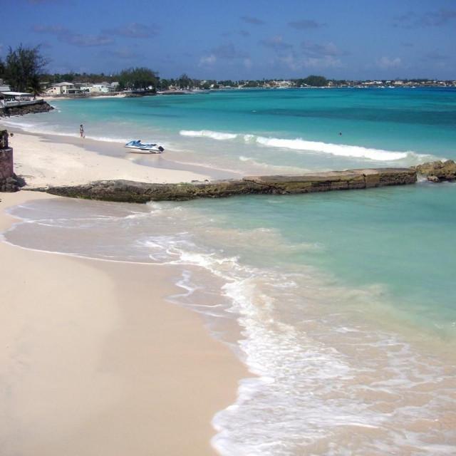 Plaža na Barbadosu
