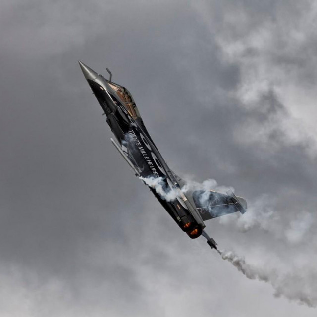 Dassault Rafale u letu