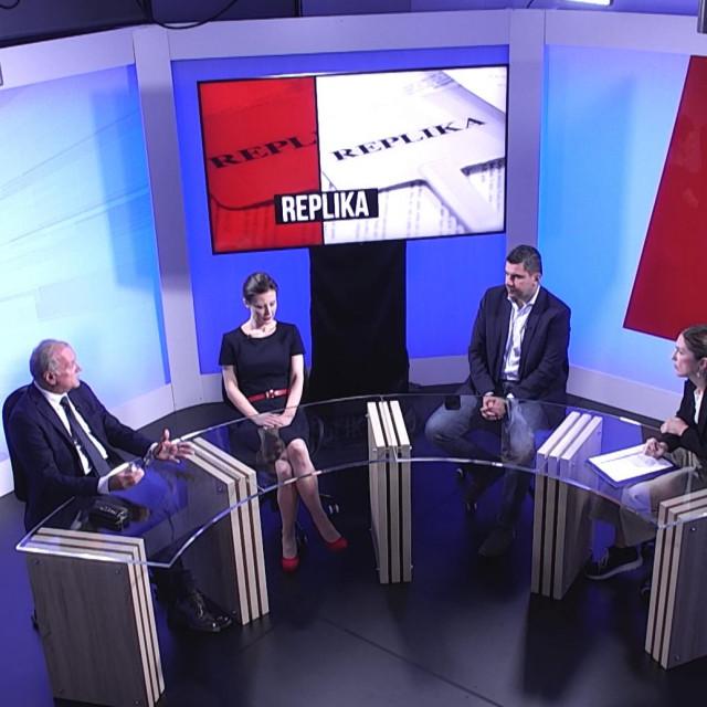 Dražen Bošnjaković, Dalija Orešković, Nikola Grmoja i Dora Koretić