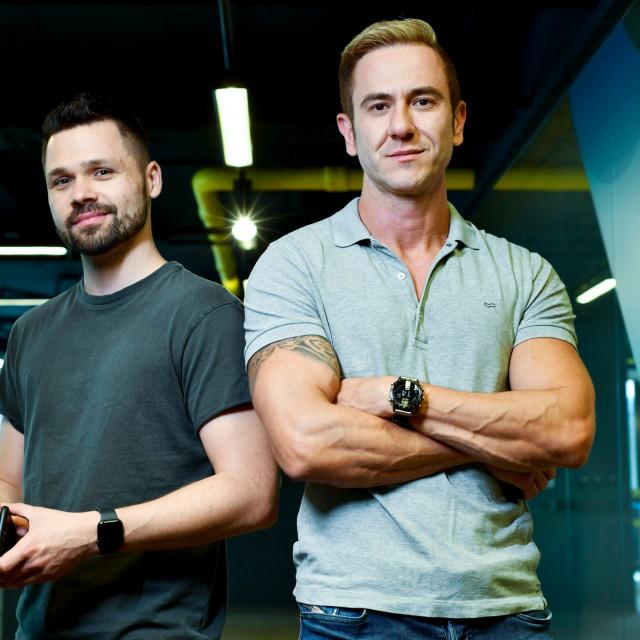 Vlasnici tvrtke Nanobit Alan Sumina i Zoran Vučinić