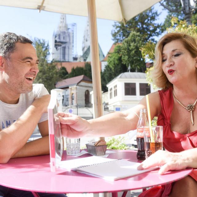 Roman Simić Bodrožić i Mirjana Dugandžija