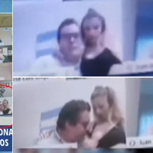 Snimka seksa na TV-u