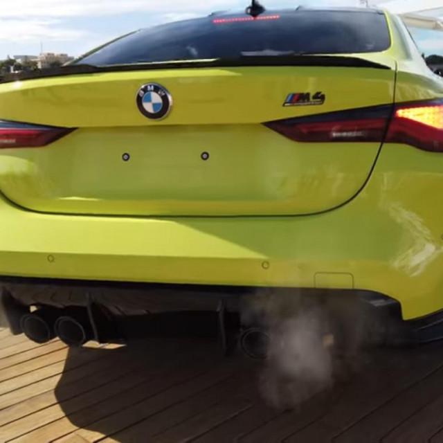 BMW M4 u Monaku