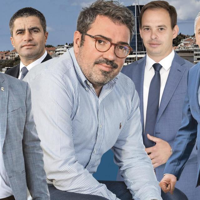 Petar Škorić, Vice Mihanović, Domagoj Maroević, Ante Mihanović i Andro Krstulović Opara