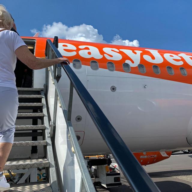 Zrakoplov EasyJeta
