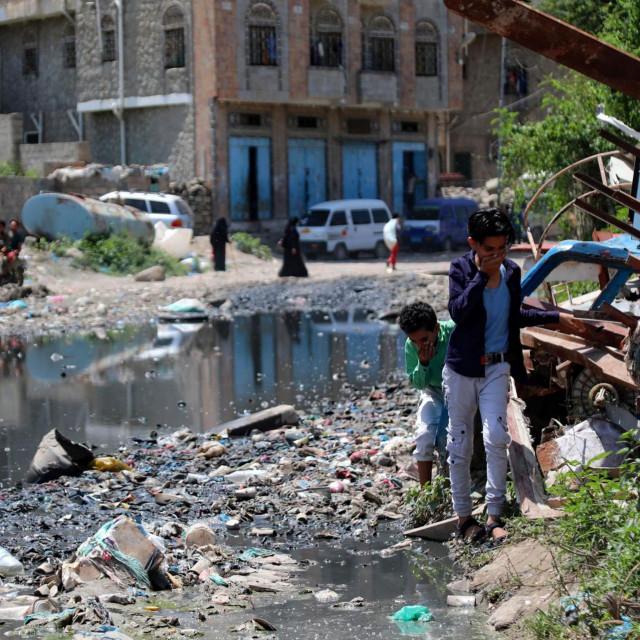 Detalj iz jemenskog grada Taeza