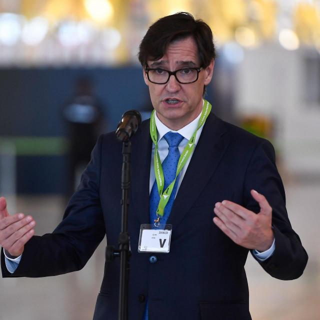 Španjolski ministar zdravstva Salvador Illa