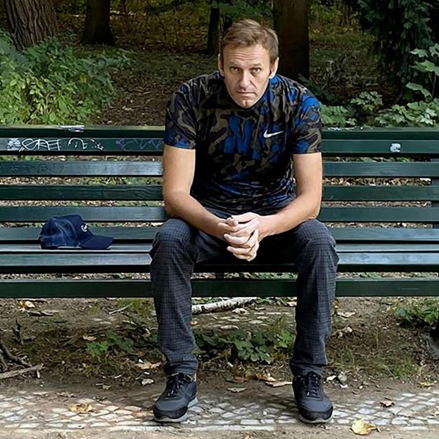 Aleksej Navaljni nakon izlaska iz bolnice