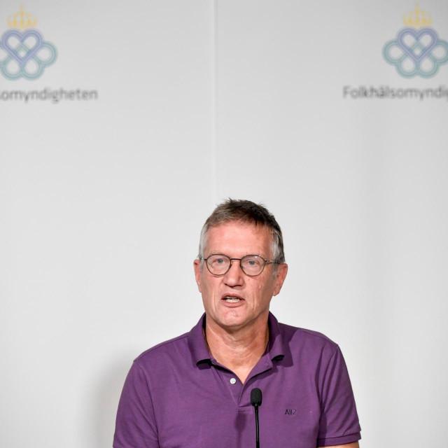 Glavni švedski epidemiolog Anders Tegnell