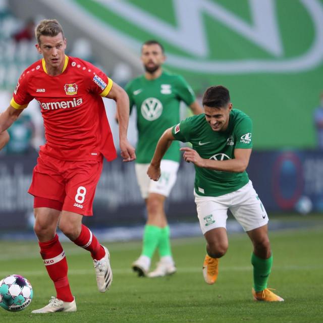 Josip Brekalo u zelenom dresu Wolfsburga