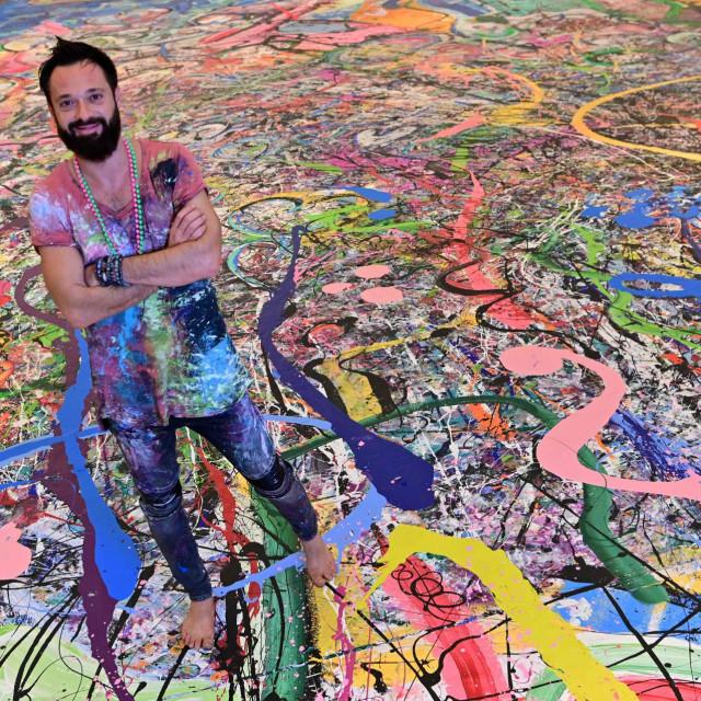 Umjetnik Sacha Jafri