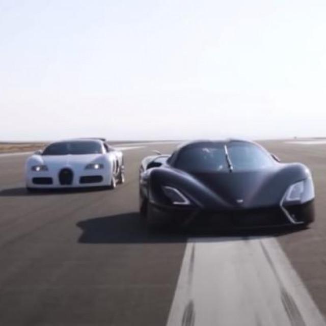 Tuatara vs. Veyron
