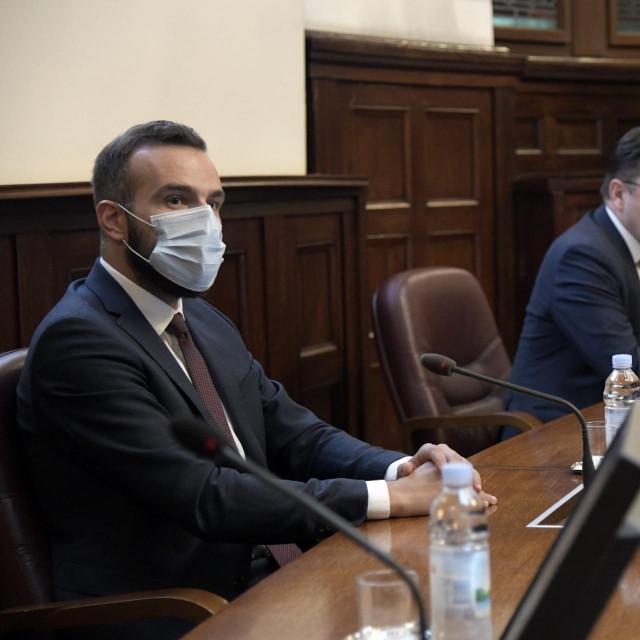 Ministar Josip Aladrović, Luka Burilović predsjednik HGK