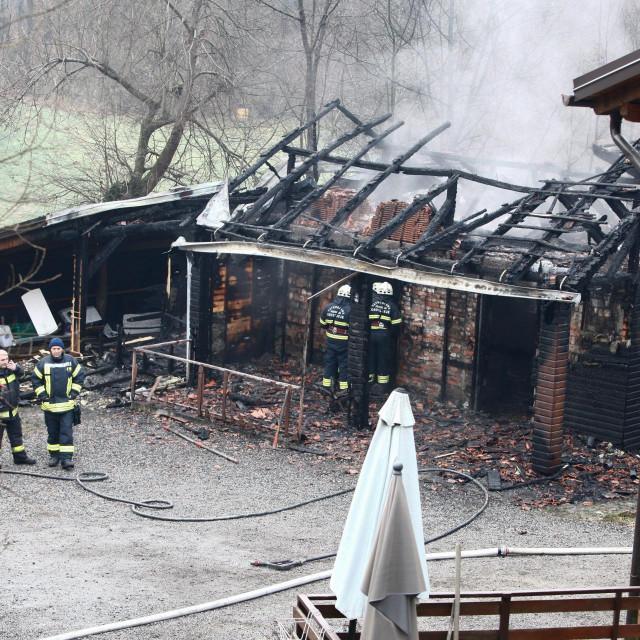 Požar u Domu u Andraševcu