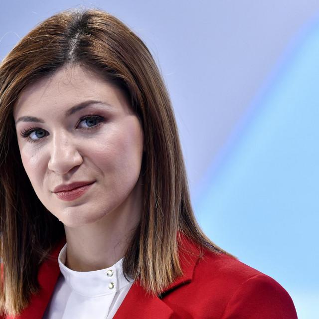 Vlatka Kalinić, voditeljica Dnevnika