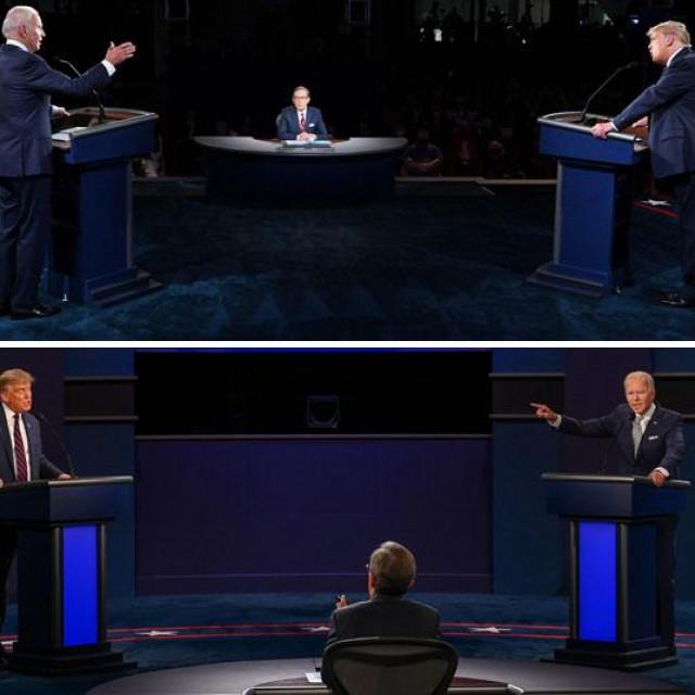 Predsjednička debata Joea Bidena i Donalda Trumpa