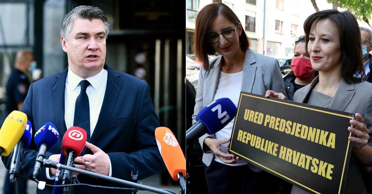 Milanović žestoko o Orešković i Puljak: 'Sad ću tim samodopadnim narikačama reći što ih ide!'