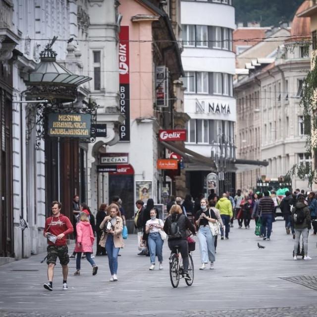 Prizor iz Ljubljane