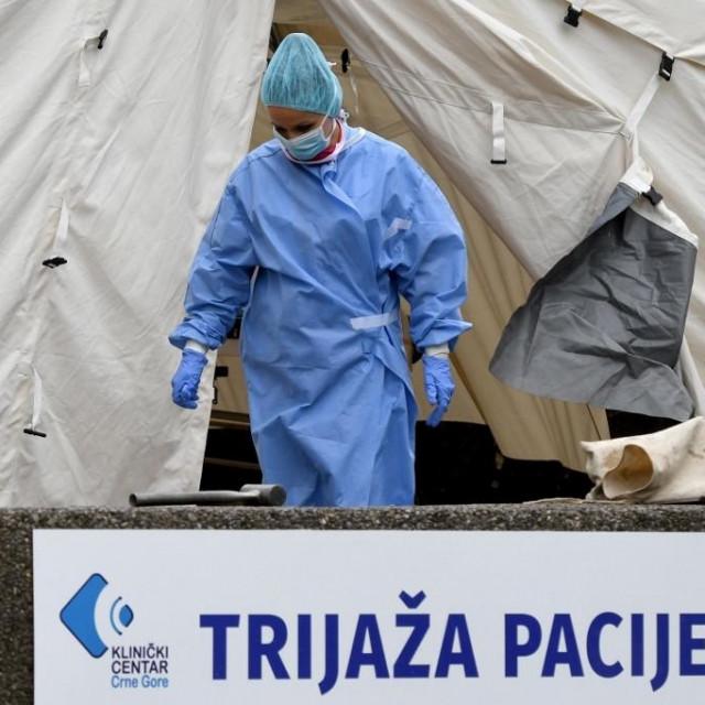 Testiranje na koronavirus u Podgorici