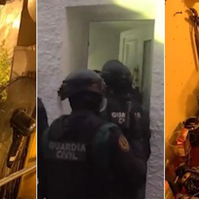 Snimke španjolske policije