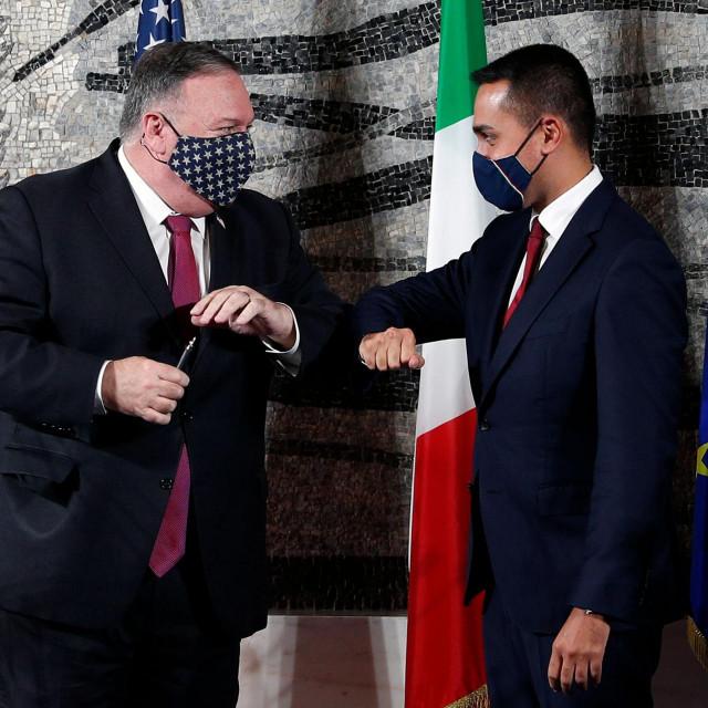 Mike Pompeo i Luigi Di Maio