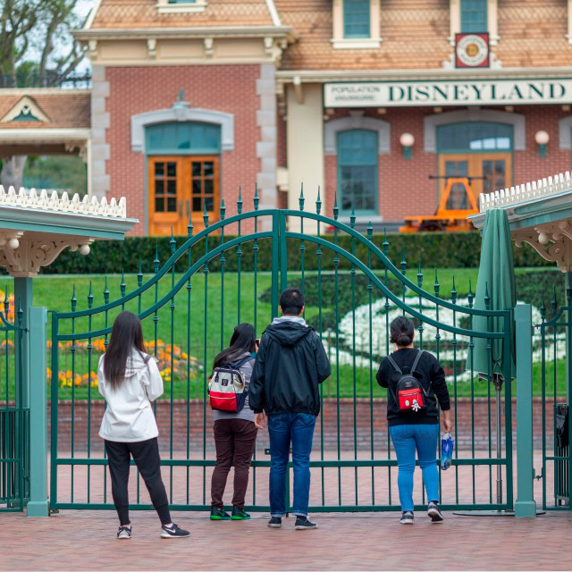 Zatvoren Disneyev tematski park u Kaliforniji