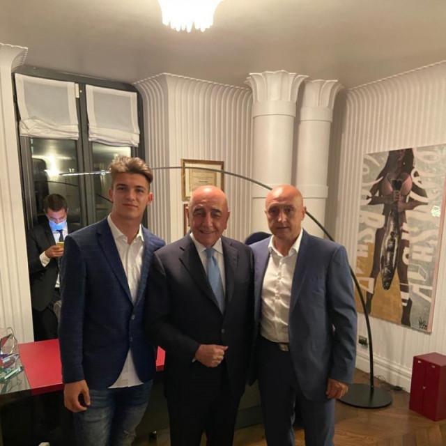 Marin, Galliani i menadžer Bičanić