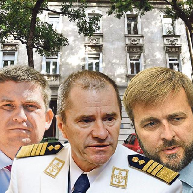 S lijeva na desno: Zoran Milanović, Oleg Butković, Robert Hranj, Tomislav Ćorić, Josip Aladrović