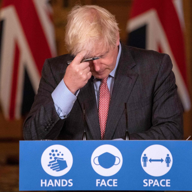 Boris Johnson / AFP