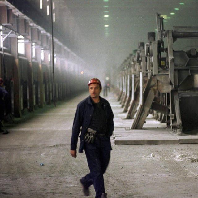 Detalj iz tvornice aluminija Mostar