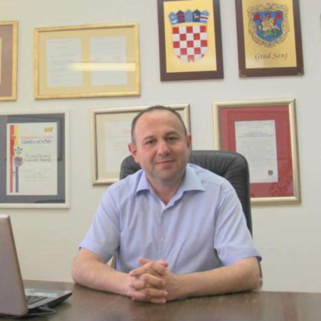 Sanjin Rukavina, gradonačelnik Senja