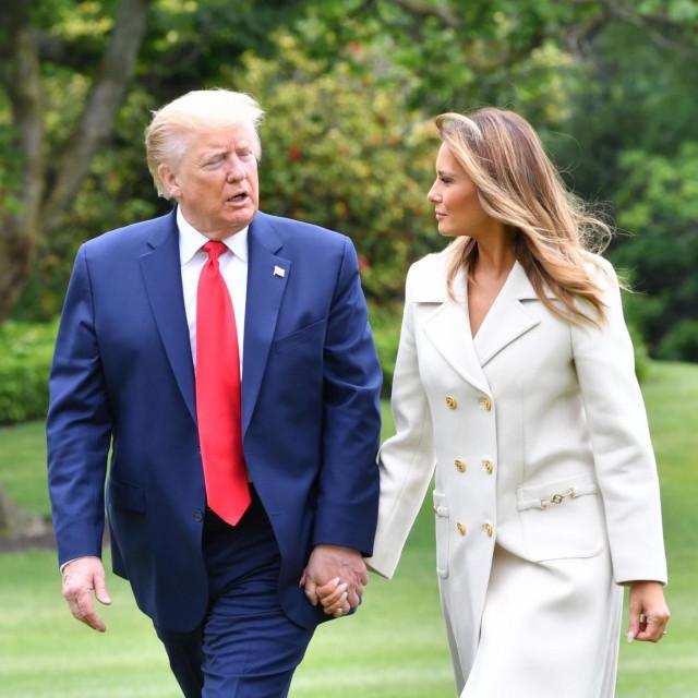 Pozitivni supružnici Trump