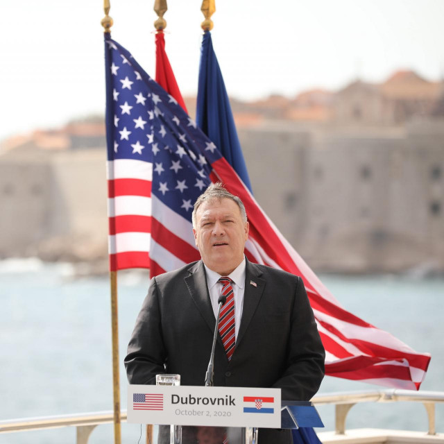 Mike Pompeo u Dubrovniku