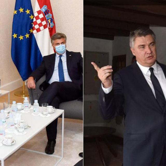 Milorad Dodik s Andrejem Plenkovićem i Zoranom Milanovićem