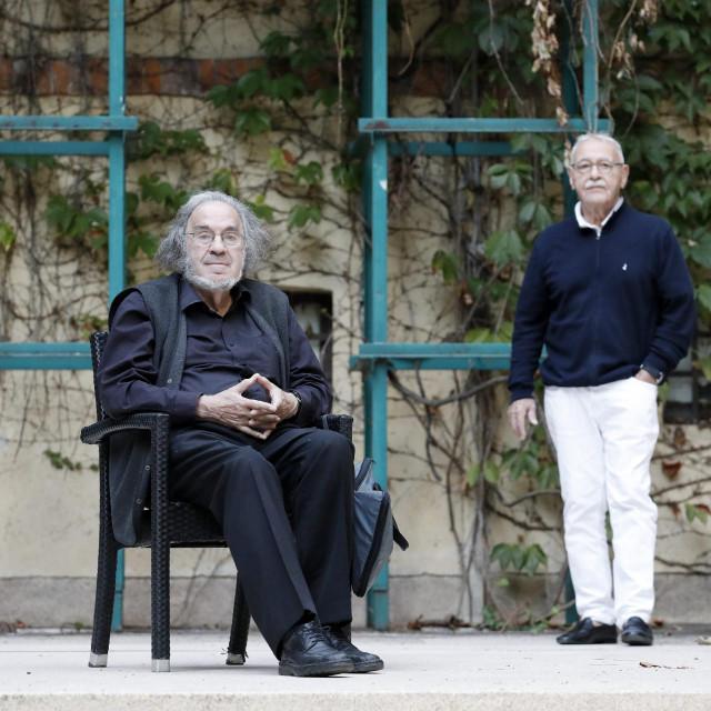 Dobroslav Silobrčić i Luko Paljetak