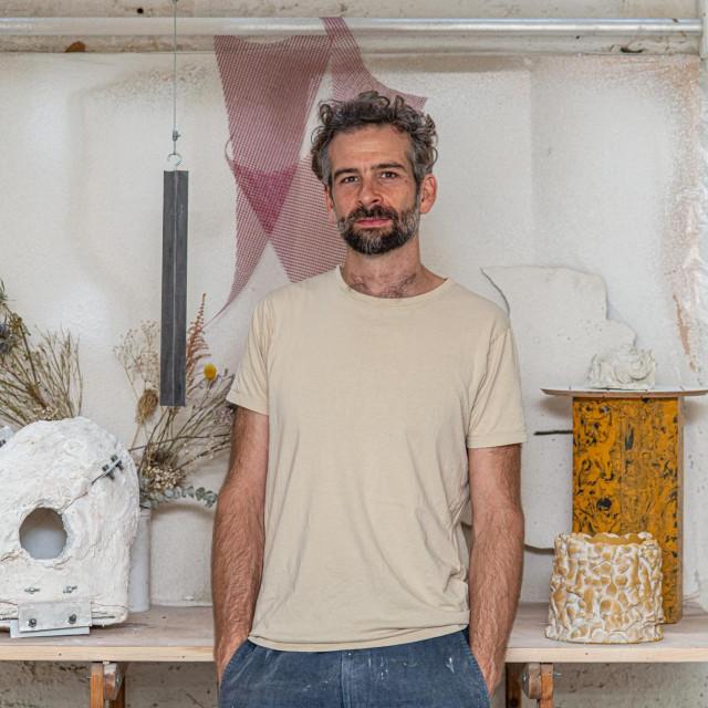 Fabien Anselm Orash u ateljeu